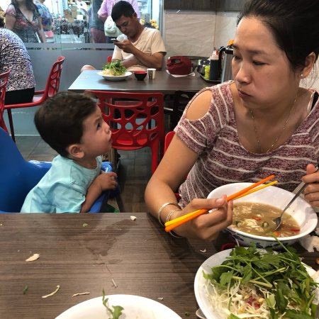 Cabramatta, Australia: Breakfast lunch with the family