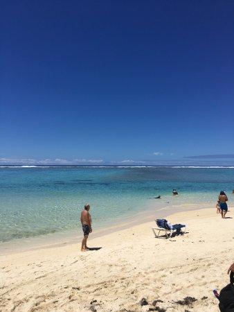 Aroa Beach, Cooköarna: From our deck