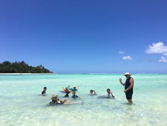 Aroa Beach, Cooköarna: Mauri
