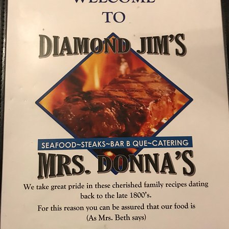 Livingston, AL: Diamond Jim's & Ms Donna's