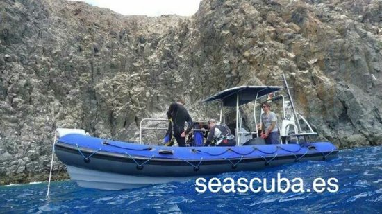 Santiago del Teide, España: Boat dive and snorkeling with Seascuba