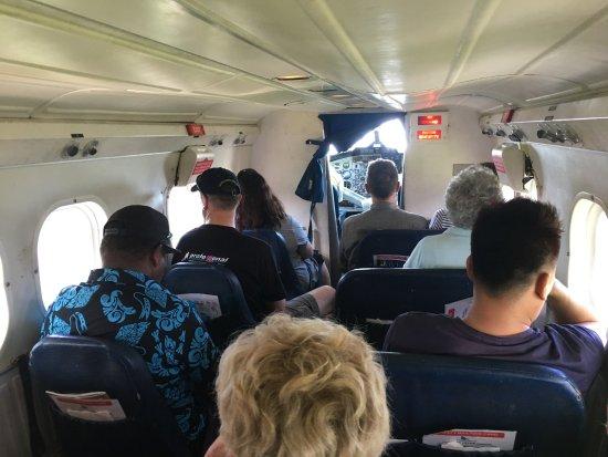 Uepi Island Resort: Plane from Honiara to Seghe
