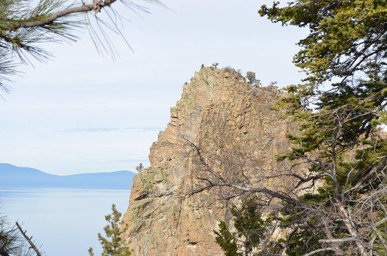 Glenbrook, NV: the Cave Rock