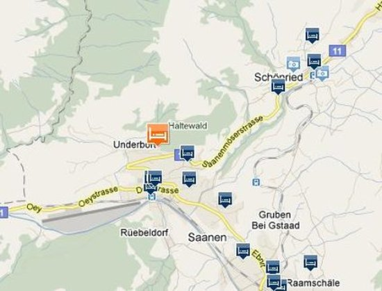 Map Picture of Hotel Solsana Gstaad TripAdvisor