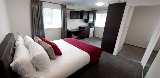 Mount Eden, New Zealand: Guest room