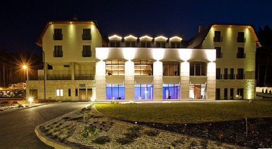 Exterior picture of natura hotel residence business for Decor hotel sucha beskidzka