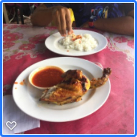 Baling, Malaysia: the famous and delicious ayam golek