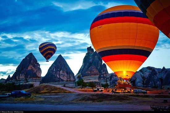 Heißluftballonfahrt über Kappadokien...