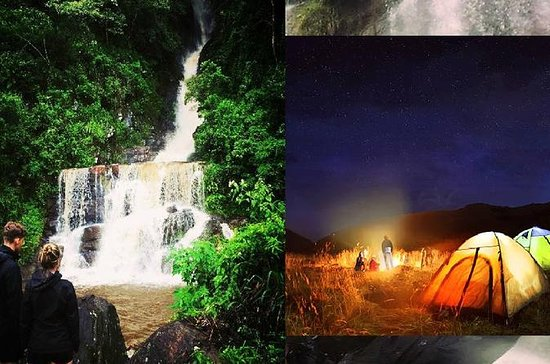 Water Falls Hunt and Night Camp under...