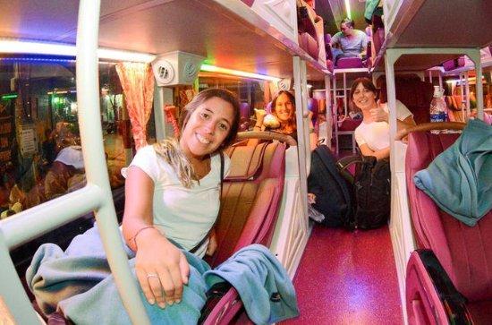 Vietnam Deluxe Open Bus Ticket