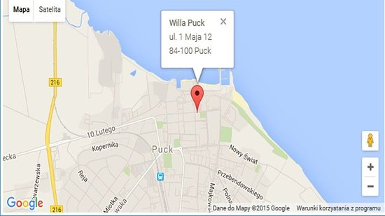Puck, Polonia: Map
