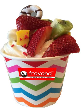 Tenafly, Nueva Jersey: Guilt free desserts - low-fat and non-fat frozen yogurt.