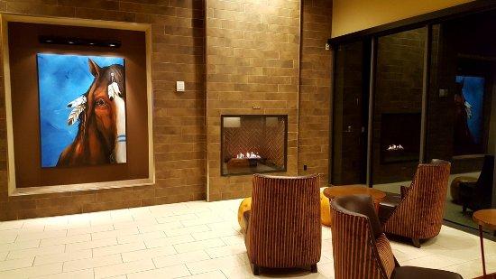 Skiatook, OK: Fireplace