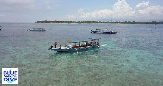 Gili Trawangan, Indonesia: Sambena is one of Blue Marines purpose built dive boats.