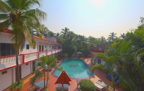 A View From The Top Of Anjuna Beach Resort