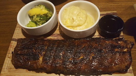 East Hanover, NJ: Crispy Brussels sprouts, Jack Daniel's Big Ribs