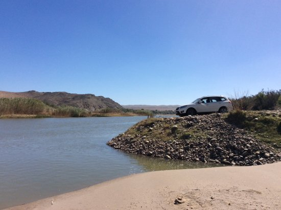 Richtersveld Transfrontier National Park, Νότια Αφρική: Angling spot on the Orange river