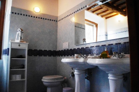 Arcidosso, Italy: bagno dell'appartamentino/camera pesca