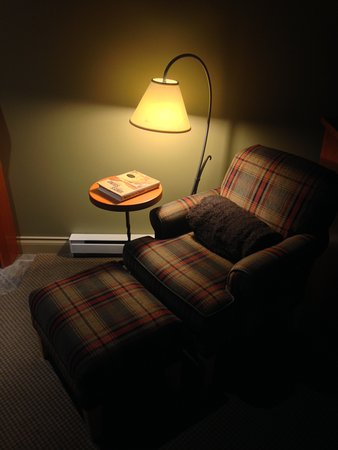 Long Beach Lodge Resort: Sitting and reading if you like