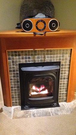 Long Beach Lodge Resort: Love the fire place