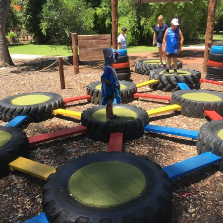 The Maze, home of Outback Splash : Fantastic day out