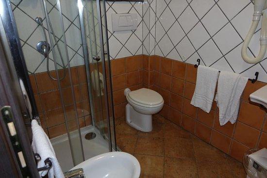 Hotel Alle Pendici Dell'Etna: Badbereich des Zimmers