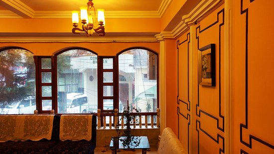 Hotel Alpine Continental: Main Reception Area