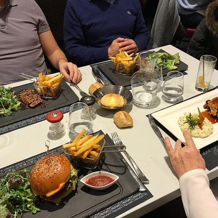 Menu plaisir et menu Burger !