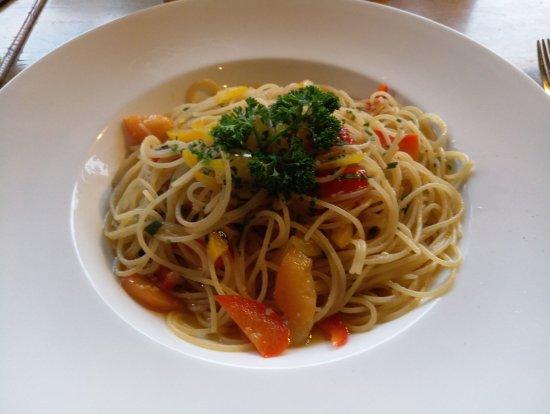 San Martino in Passiria, อิตาลี: Spaghetti al peperoncino