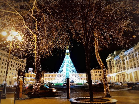 Christmas In Georgia Tbilisi.Republic Square Was Awesome For Christmas Picture Of