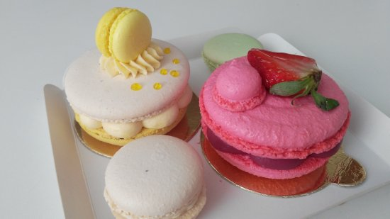 Cukrárna Saint Tropez: macarons special