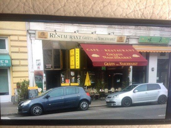 Grafin vom Naschmarkt: Esta es la fachada para que lo tengáis claro