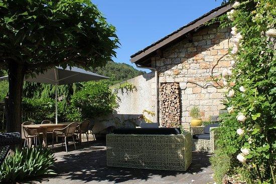 Peyreleau, France: jardin suspendu de l'Ermitage