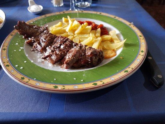 Asador el Bodegon: Entrecôte / frites: 15€ (janvier 2018)