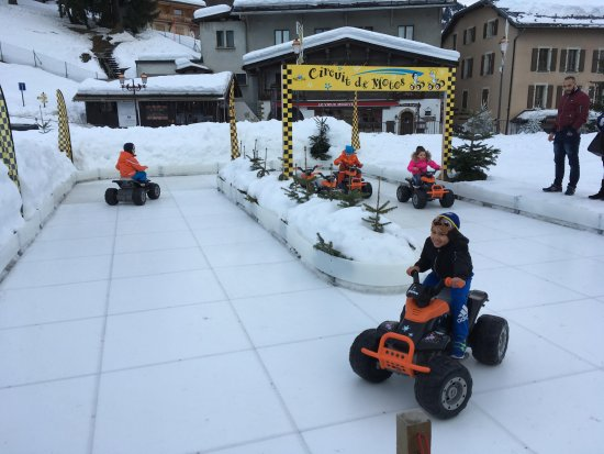 Formule Kid - ice-riding for kids