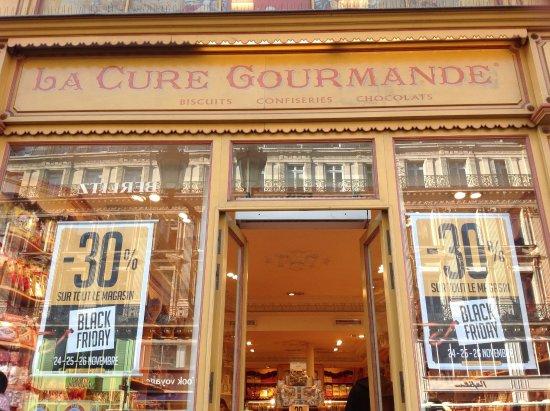 La Cure Gourmande Rivoli: Exterior of store