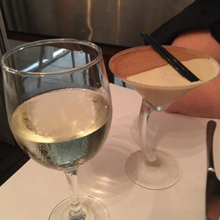 La Vida Restaurant: Slant on the espresso martini was divinity