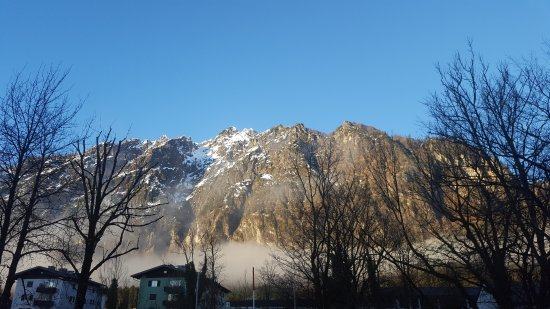 Hotel Untersberg: view out of the room