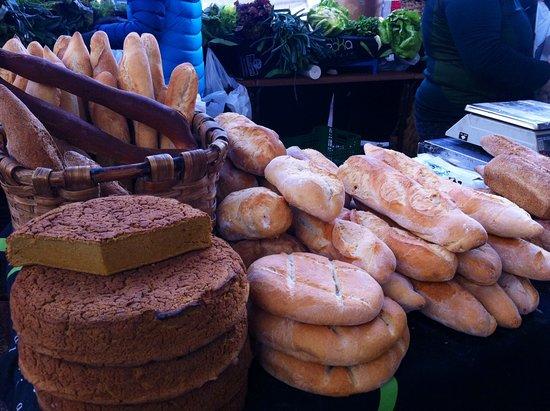 Ordizia, Spain: Pan artesanal