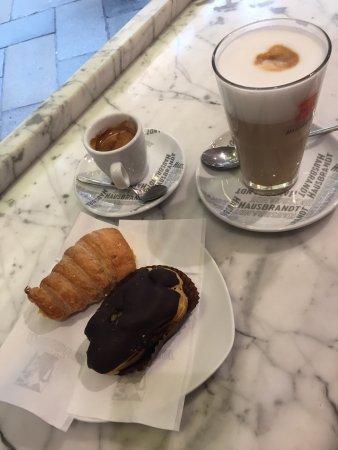 Marchini Time: café latté, café lungo et 2 viennoiserie 10€