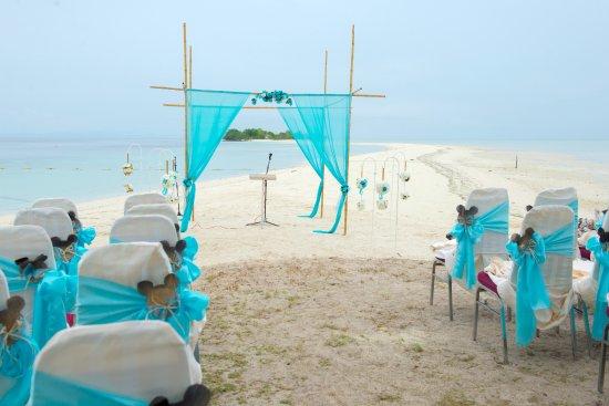 Semporna District, Malaysia: Site of the Beach Wedding 2