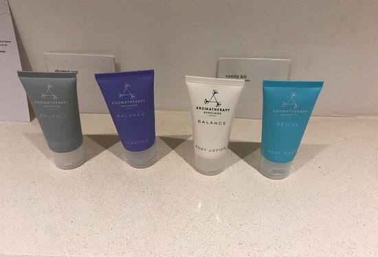 The Lowry Hotel: The only toiletries you get - hardly the pinnacle of luxury