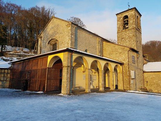 Chiusi della Verna, Italia: Il sole dopo la nebbia
