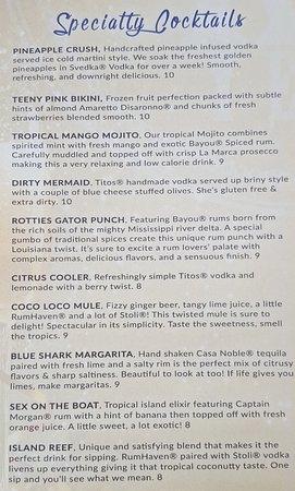 Jensen Beach, FL: Signature Cocktails