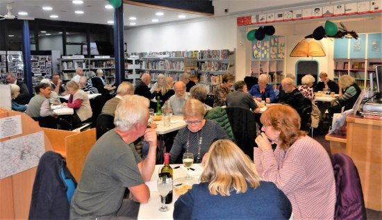 Halesworth Library: One of our quiz nights.
