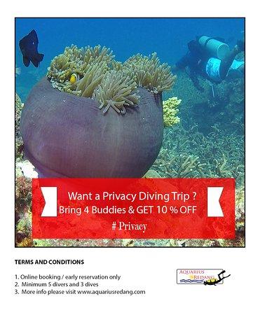 Pulau Redang, Malásia: Privacy Diving Trip