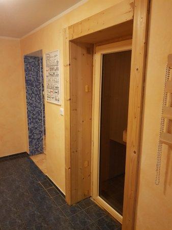 Chorin, Tyskland: Sauna