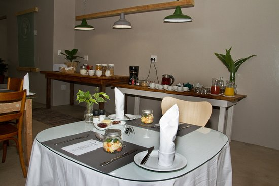 Igwalagwala Guest House: Breakfast at iGwalagwala