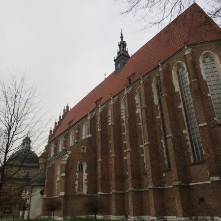 Corpus Christi Church (Kosciól Bozego Ciala): The church from the outside