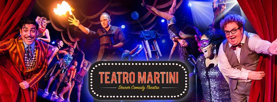Buena Park, Καλιφόρνια: Don't miss Teatro Martini- Orange County's hottest variety show!